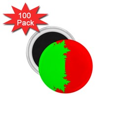 Critical Points Line Circle Red Green 1.75  Magnets (100 pack)
