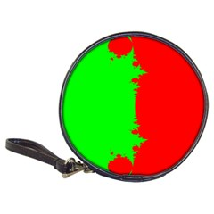 Critical Points Line Circle Red Green Classic 20-CD Wallets