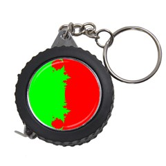 Critical Points Line Circle Red Green Measuring Tapes