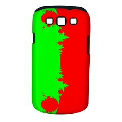 Critical Points Line Circle Red Green Samsung Galaxy S III Classic Hardshell Case (PC+Silicone)