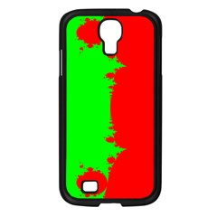 Critical Points Line Circle Red Green Samsung Galaxy S4 I9500/ I9505 Case (Black)