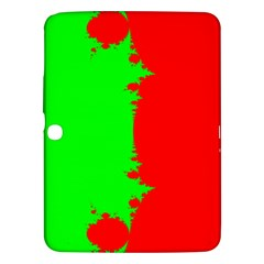 Critical Points Line Circle Red Green Samsung Galaxy Tab 3 (10.1 ) P5200 Hardshell Case