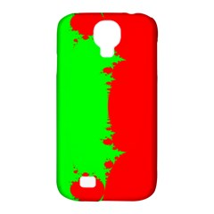 Critical Points Line Circle Red Green Samsung Galaxy S4 Classic Hardshell Case (PC+Silicone)