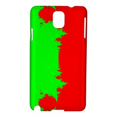 Critical Points Line Circle Red Green Samsung Galaxy Note 3 N9005 Hardshell Case