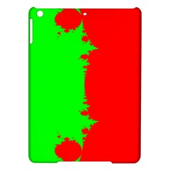 Critical Points Line Circle Red Green iPad Air Hardshell Cases
