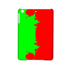 Critical Points Line Circle Red Green iPad Mini 2 Hardshell Cases