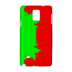 Critical Points Line Circle Red Green Samsung Galaxy Note 4 Hardshell Case