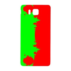Critical Points Line Circle Red Green Samsung Galaxy Alpha Hardshell Back Case