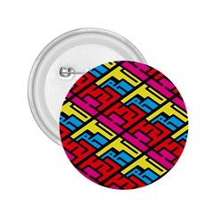 Color Red Yellow Blue Graffiti 2.25  Buttons