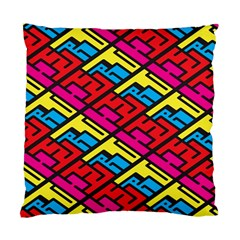 Color Red Yellow Blue Graffiti Standard Cushion Case (Two Sides)