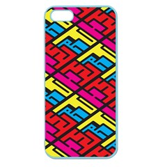 Color Red Yellow Blue Graffiti Apple Seamless iPhone 5 Case (Color)