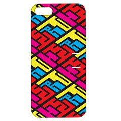 Color Red Yellow Blue Graffiti Apple iPhone 5 Hardshell Case with Stand
