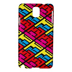 Color Red Yellow Blue Graffiti Samsung Galaxy Note 3 N9005 Hardshell Case