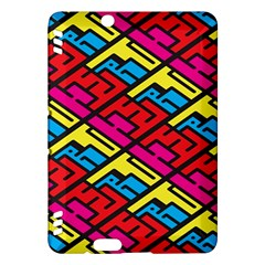 Color Red Yellow Blue Graffiti Kindle Fire HDX Hardshell Case
