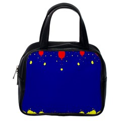 Critical Points Line Circle Red Blue Yellow Classic Handbags (One Side)