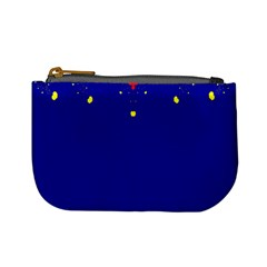 Critical Points Line Circle Red Blue Yellow Mini Coin Purses