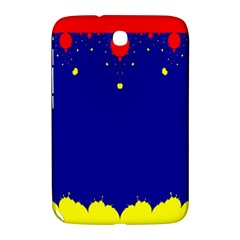 Critical Points Line Circle Red Blue Yellow Samsung Galaxy Note 8.0 N5100 Hardshell Case