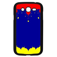 Critical Points Line Circle Red Blue Yellow Samsung Galaxy Grand DUOS I9082 Case (Black)