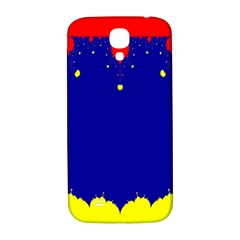 Critical Points Line Circle Red Blue Yellow Samsung Galaxy S4 I9500/I9505  Hardshell Back Case