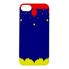 Critical Points Line Circle Red Blue Yellow Apple iPhone 5S/ SE Hardshell Case