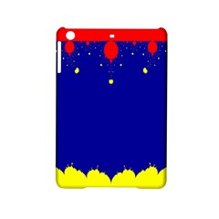 Critical Points Line Circle Red Blue Yellow iPad Mini 2 Hardshell Cases