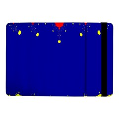 Critical Points Line Circle Red Blue Yellow Samsung Galaxy Tab Pro 10.1  Flip Case