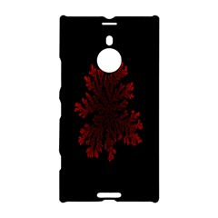Dendron Diffusion Aggregation Flower Floral Leaf Red Black Nokia Lumia 1520