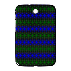 Diamond Alt Blue Green Woven Fabric Samsung Galaxy Note 8.0 N5100 Hardshell Case
