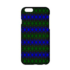 Diamond Alt Blue Green Woven Fabric Apple iPhone 6/6S Hardshell Case
