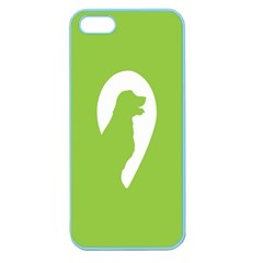 Dog Green White Animals Apple Seamless iPhone 5 Case (Color)