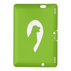 Dog Green White Animals Kindle Fire HDX 8.9  Hardshell Case