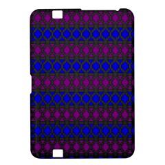 Diamond Alt Blue Purple Woven Fabric Kindle Fire HD 8.9