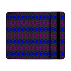 Diamond Alt Blue Purple Woven Fabric Samsung Galaxy Tab Pro 8.4  Flip Case
