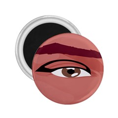 Eye Difficulty Red 2.25  Magnets