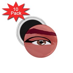 Eye Difficulty Red 1.75  Magnets (10 pack)