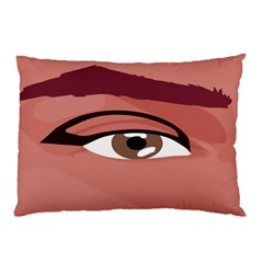 Eye Difficulty Red Pillow Case