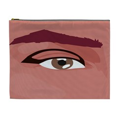 Eye Difficulty Red Cosmetic Bag (XL)