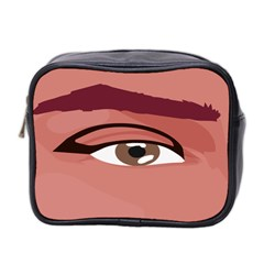 Eye Difficulty Red Mini Toiletries Bag 2-Side
