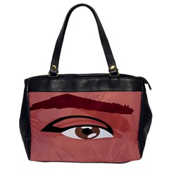 Eye Difficulty Red Office Handbags