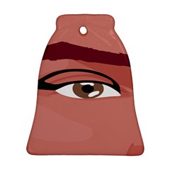 Eye Difficulty Red Ornament (Bell)