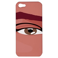 Eye Difficulty Red Apple iPhone 5 Hardshell Case