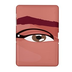 Eye Difficulty Red Samsung Galaxy Tab 2 (10 1 ) P5100 Hardshell Case