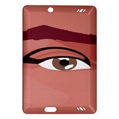 Eye Difficulty Red Amazon Kindle Fire HD (2013) Hardshell Case