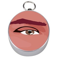Eye Difficulty Red Silver Compasses