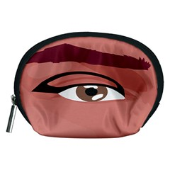 Eye Difficulty Red Accessory Pouches (Medium)