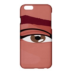 Eye Difficulty Red Apple iPhone 6 Plus/6S Plus Hardshell Case
