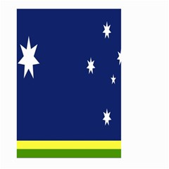 Flag Star Blue Green Yellow Large Garden Flag (Two Sides)
