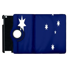 Flag Star Blue Green Yellow Apple iPad 2 Flip 360 Case