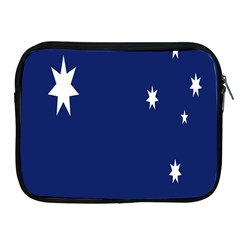 Flag Star Blue Green Yellow Apple iPad 2/3/4 Zipper Cases