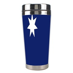 Flag Star Blue Green Yellow Stainless Steel Travel Tumblers